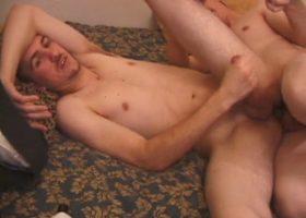Matthew fucks virgin boy casper