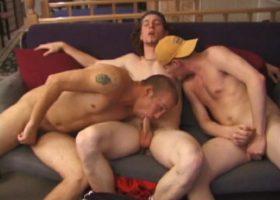 Adam, Stephen and Timmy