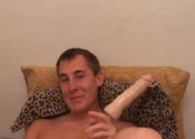 Kiefer Foxx Dildo Jacking