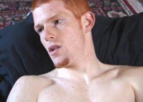 Tristan Stroking Cock