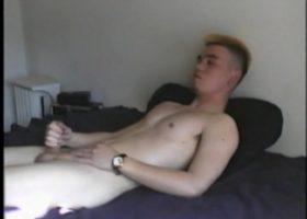 Amateur Isao Blows A Big Cum Load