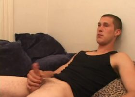 Brent and Lucky Jacking Off