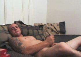 Amateur Bradley Shaw Jacking Off