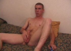 Richard Conelli Dildo Jacking