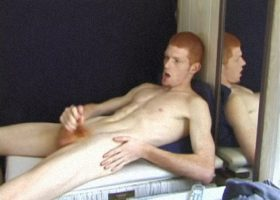 Redhead Tristian Beating Off