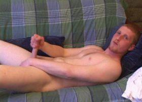 Amateur Trey Strokes Cock