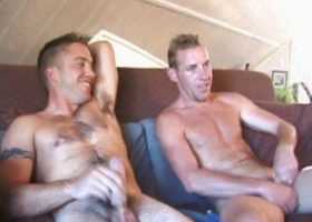 Str8 Sean and Johnny Suck Dick