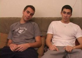 Young Vincenzo and Levi Suck Cock