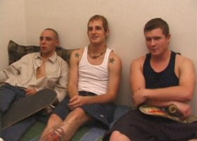 Torque, Bradley and JG Threesome