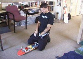 Skater Dan Beating His Meat