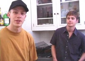 Austin Gives Shane a Blow Job