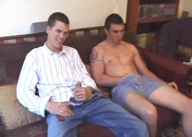 Luis and Matthew Sucking Dick