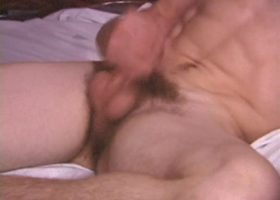 Amateur Adam Stroking One Out