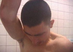 Amateur Dan Shower Jacking