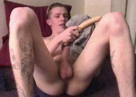 Amateur Shane Dildo Jacking