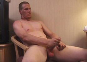 Jack McLoan Beating His Meat
