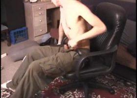 Lex Strokes His Hard Dick