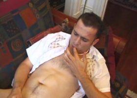 Chad Burton Beats His Meat
