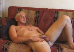 Dylan Jacking With Butt Plug