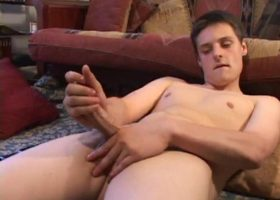 Gunner Raines Strokes His Meat