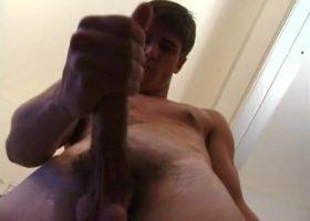 Austin Beating His Stiff Meat