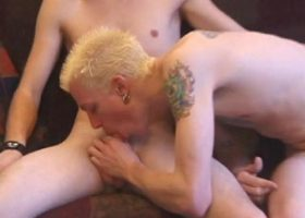 Roar and Shane Sucking Cock