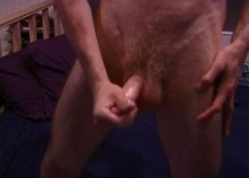 Jonathan Priest Strokes His Meat