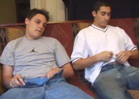 Gunner and Levi Sucking Dick