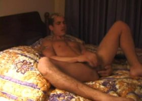 Robby Strokes His Meat