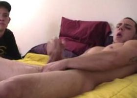 Str8 Nate and Bradley Suck Dick