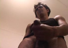 Emilio Strokes His Meat