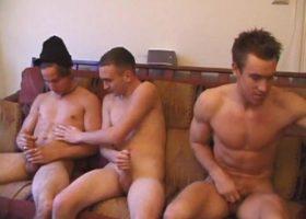 Dick Sucking Threesome