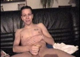 Young Dominic Beating His Meat