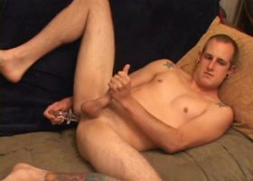 Torque Strokes With Dildo