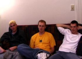 Curious Boys Gay Threesome