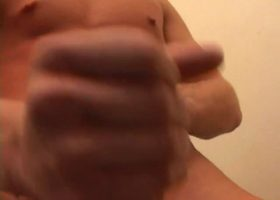 Kenneth Price Strokes His Meat