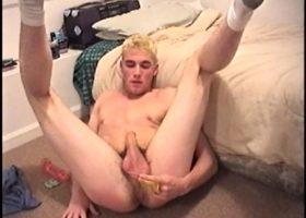 Hung Boy Ashton Dildo Jacking