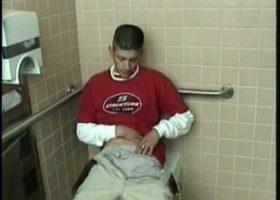 Straight Boy Ethan Toilet Jacking