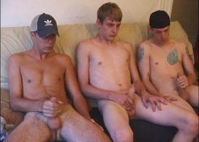 Threesome Suck and Jerk Off