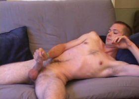 Tommy Nolan Stroking His Cock