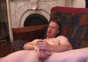 Redhead Johnny Beating Off