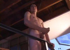 Luke Daniels Beating His Meat