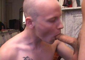 Lex and Gunner Sucking Cock