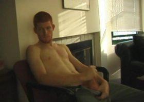 Redhead Tristian Jacking Off