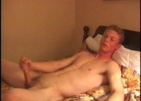Straight Boy Justin Jacks Off