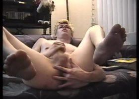 Jason Baltimore Stroking His Meat
