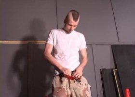Nick Stevens Beating His Meat