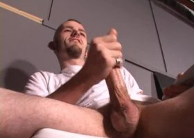 Nick Stevens Beating His Meat