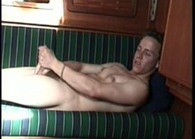 Straight Boy Calvin Jerking Off