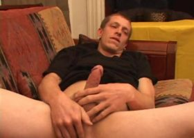 Shane Strokes And Wins Cum Contest
